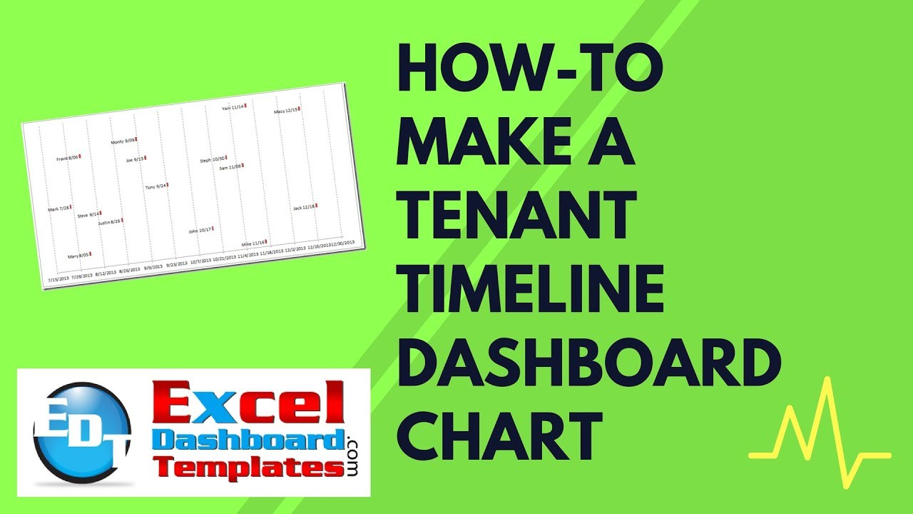 how to draw a timeline in excel