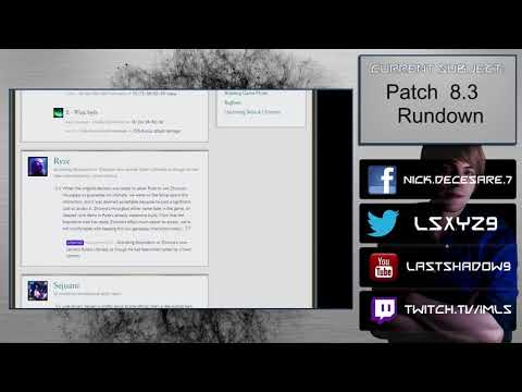 Patch 8.3 Rundown - Swing and a miss
