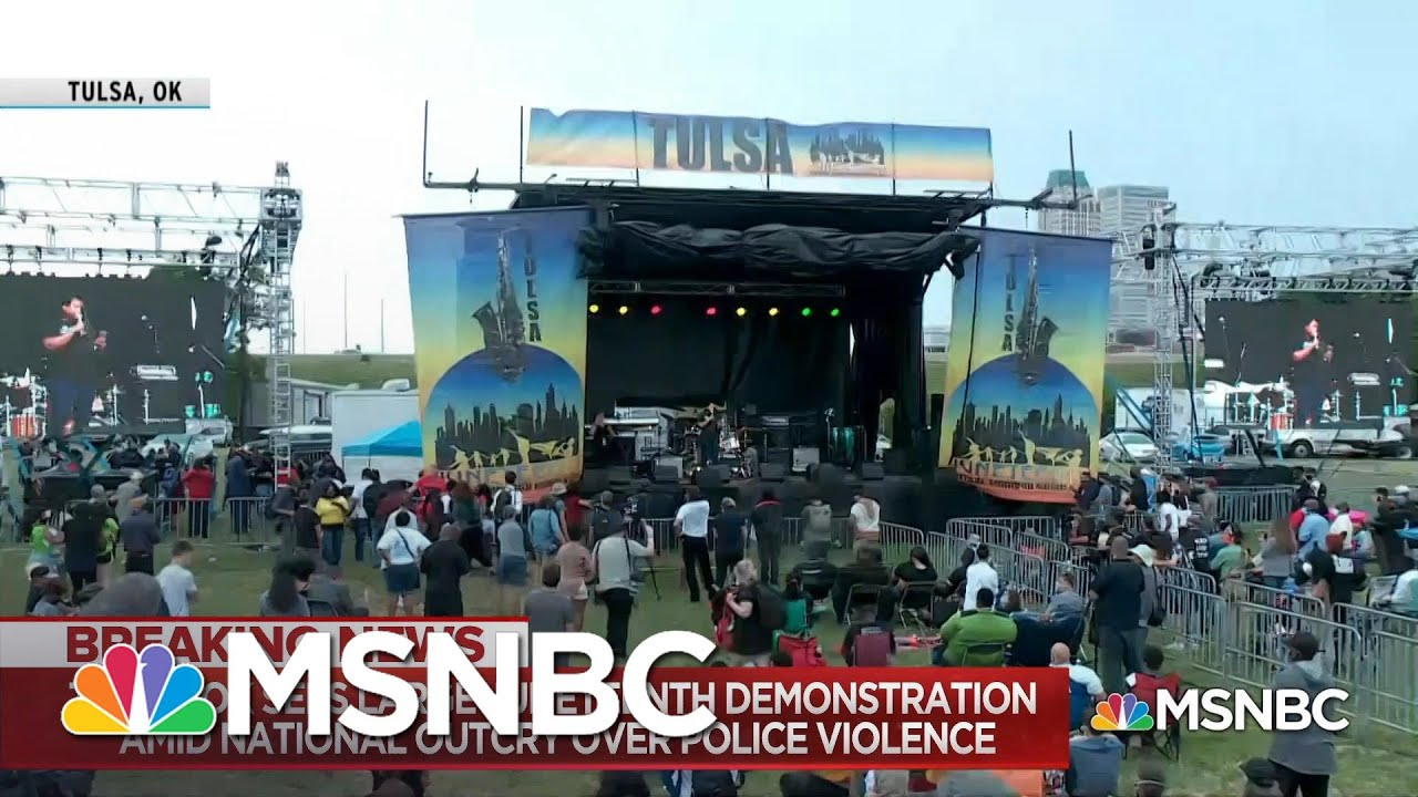 Tulsa's Weekend Of Contrasts: Juneteenth Commemorations Friday, MAGA Rally On Saturday | MSNBC