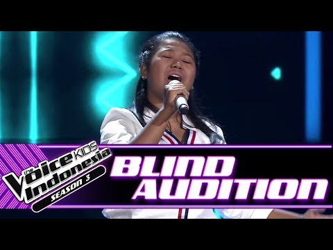 Nanda - Jatuh Hati   Blind Auditions   The Voice Kids Indonesia Season 3 GTV 2018