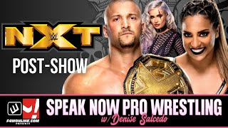 WWE NXT: NXT Takeover Stand & Deliver Fallout! | Speak Now Pro Wrestling w/ Denise Salcedo Ep. 1