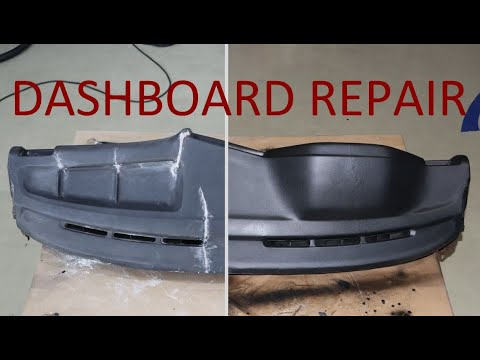 Cracked BMW E30 Dashboard Repair