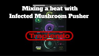 Mixing a TM88 type beat with Waves Audio Infected Mushroom Pusher