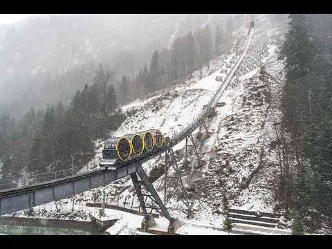 World's steepest funicular powered by ABB technology
