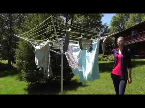 Moerman Multistage 4 Arm Rotary Clothes Dryer