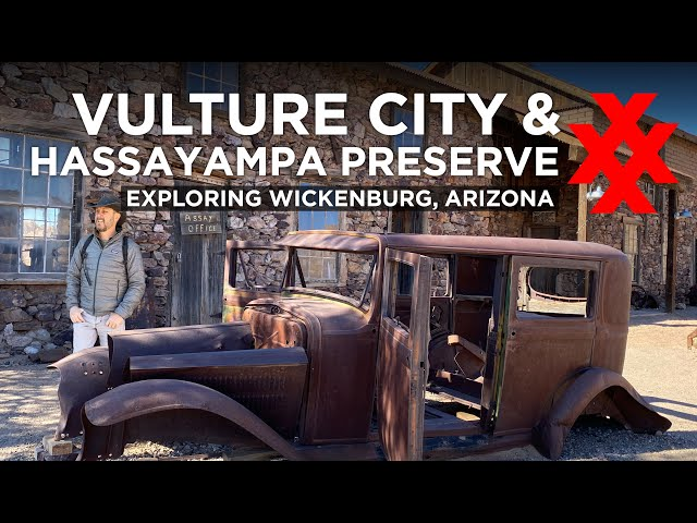 Vulture City Ghost Town and Hassayampa Preserve - Explore with 4XPEDITION