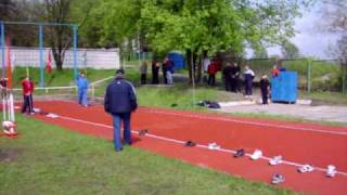javelin throw (около 81 метров) 2007