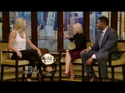 Holly Holm on LIVE with Kelly and Michael