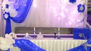 Драпировка свадебных залов