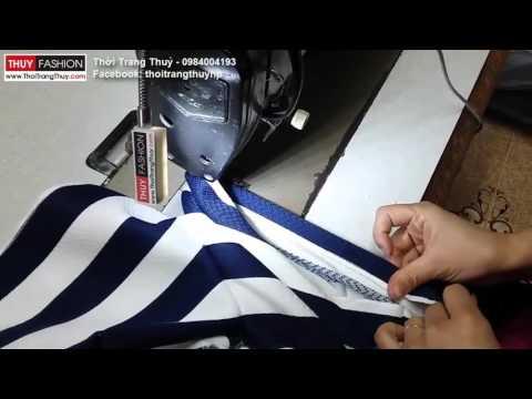 Hướng dẫn may quần short nữ tại Thời Trang Thuỷ phần 3 - Sewing shorts for women