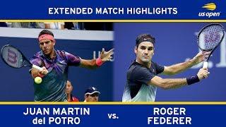 Extended Highlight: Juan Martin del Potro vs. Roger Federer | 2017 US Open, QF