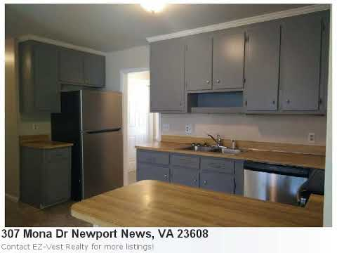 Homes For Sale In Newport News, Va! Take A Peek At 307 Mona Dr It's A Pretty 3 Bedroom, 2 Bath Home
