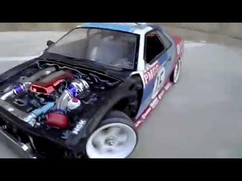 Rc Drift Smoke Machine Homemade Test Run 1