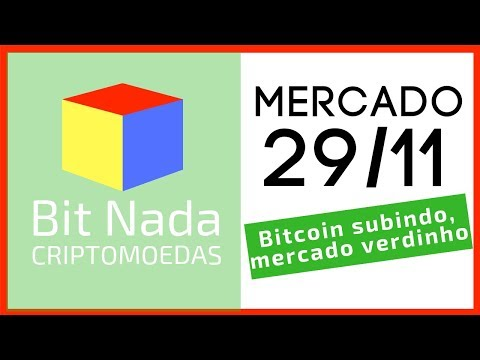 Mercado de Cripto! 29/11 Bitcoin subindo, mercado verdinho! / Crítica aos desenvolvedores!