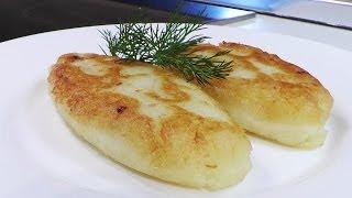пирожки картофельные с капустой видео рецепт.Великий пост