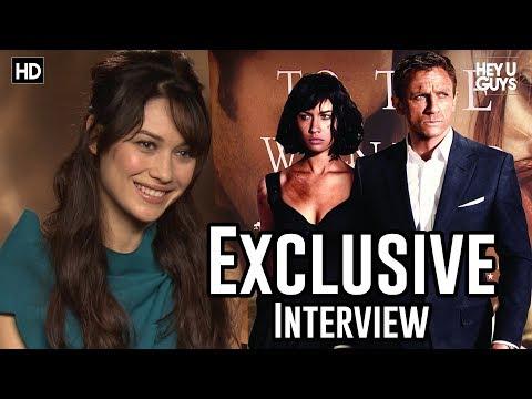 Olga Kurylenko To the Wonder Exclusive Movie Interview