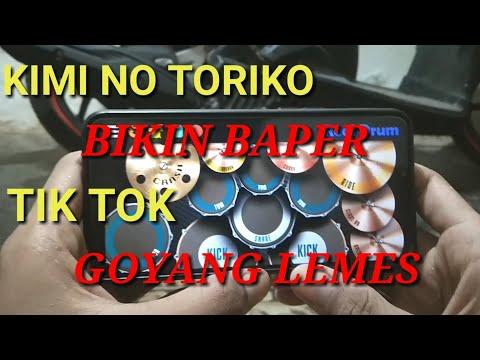 kimi-no-toriko-pasti-baper- -cover-real-drum