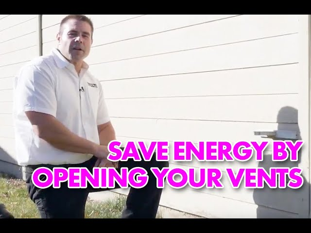 Tip Foundation Vent Summer | Right Now Heating and Air Conditioning
