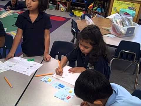 elementary literacy small group instruction focused on word work