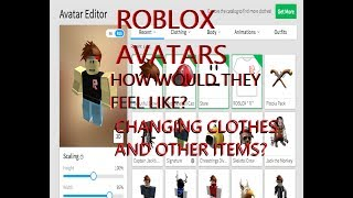 SPS - How would Roblox characters feel like when changing clothes?