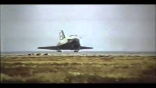 "Amazing landing of ""Buran"" orbiter (Soviet space shuttle). Completely unmanned!"