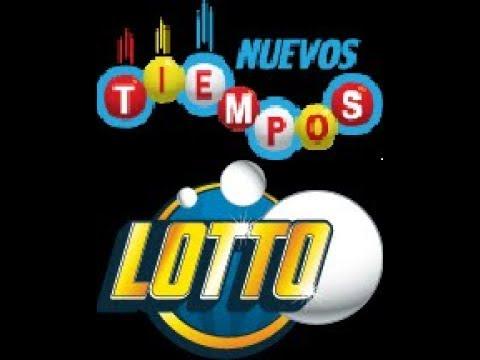 Sorteo Nuevos Tiempos N° 16153 y Lotto N° 1776 (Noche) Sábado 18 noviembre 2017. JPS
