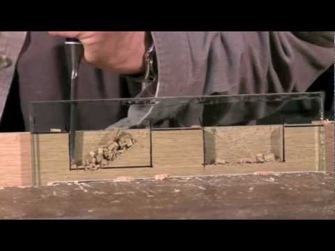 Cutting a Mortise - Mortise chisel vs bevel edge chisel   Paul Sellers