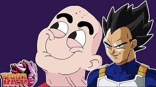 Vegeta Reacts To What If Krillin Had A Nose - Dragon Ball Parody