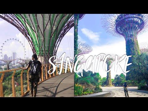 BALI to SINGAPORE- SINGAPORE TRAVEL VLOG 🇸🇬