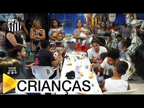 Santos FC promove mais uma edição da Vila das Crianças