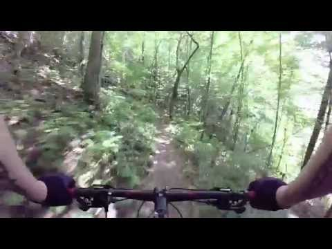 Flint Ridge Trail - Short Loop (from the top) - GoPro Chesty