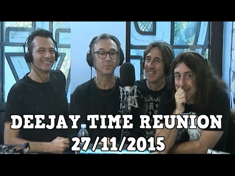 DEEJAY TIME REUNION 27/11/2015 Ospite Max Pezzali