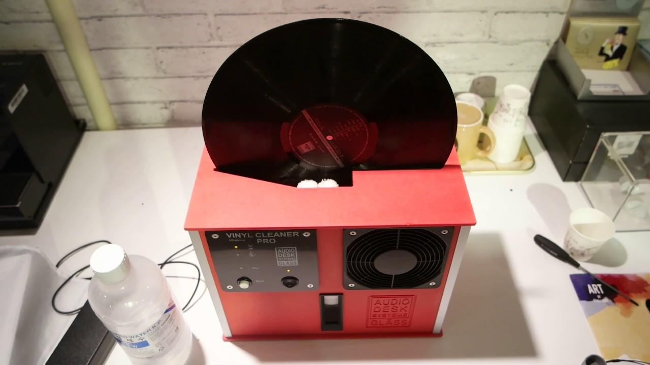 Audiodesk Vinyl Cleaner Demo
