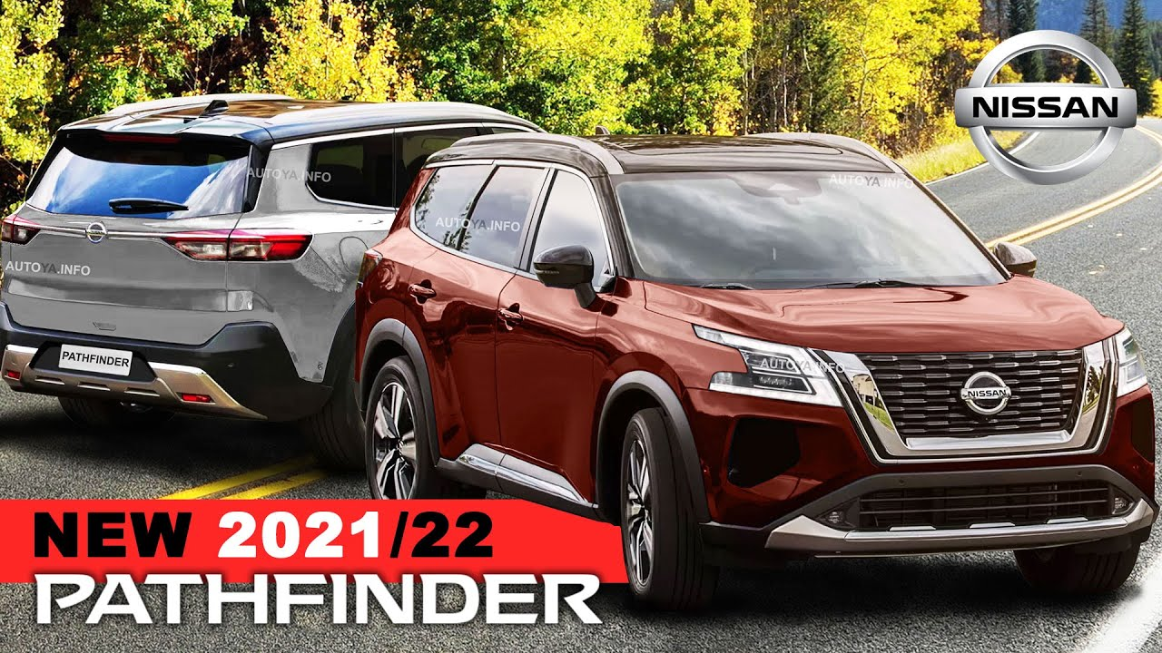 Nissan Pathfinder 4 as New 4 Model and Small Armada is rendered again  in Colors Options