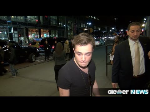 Ed Westwick Bar Fight in NYC!