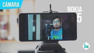 Nokia 5 - Review de cámara en español