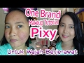 ONE BRAND MAKEUP TUTORIAL PIXY KAWAII UNTUK WAJAH BERJERAWAT | Full Makeup Acne Skin Coverage