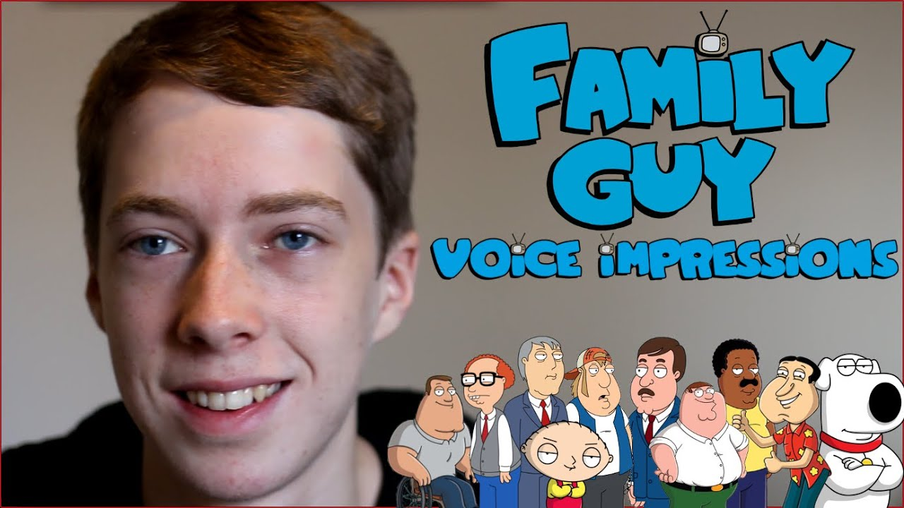 How to do family guy impressions