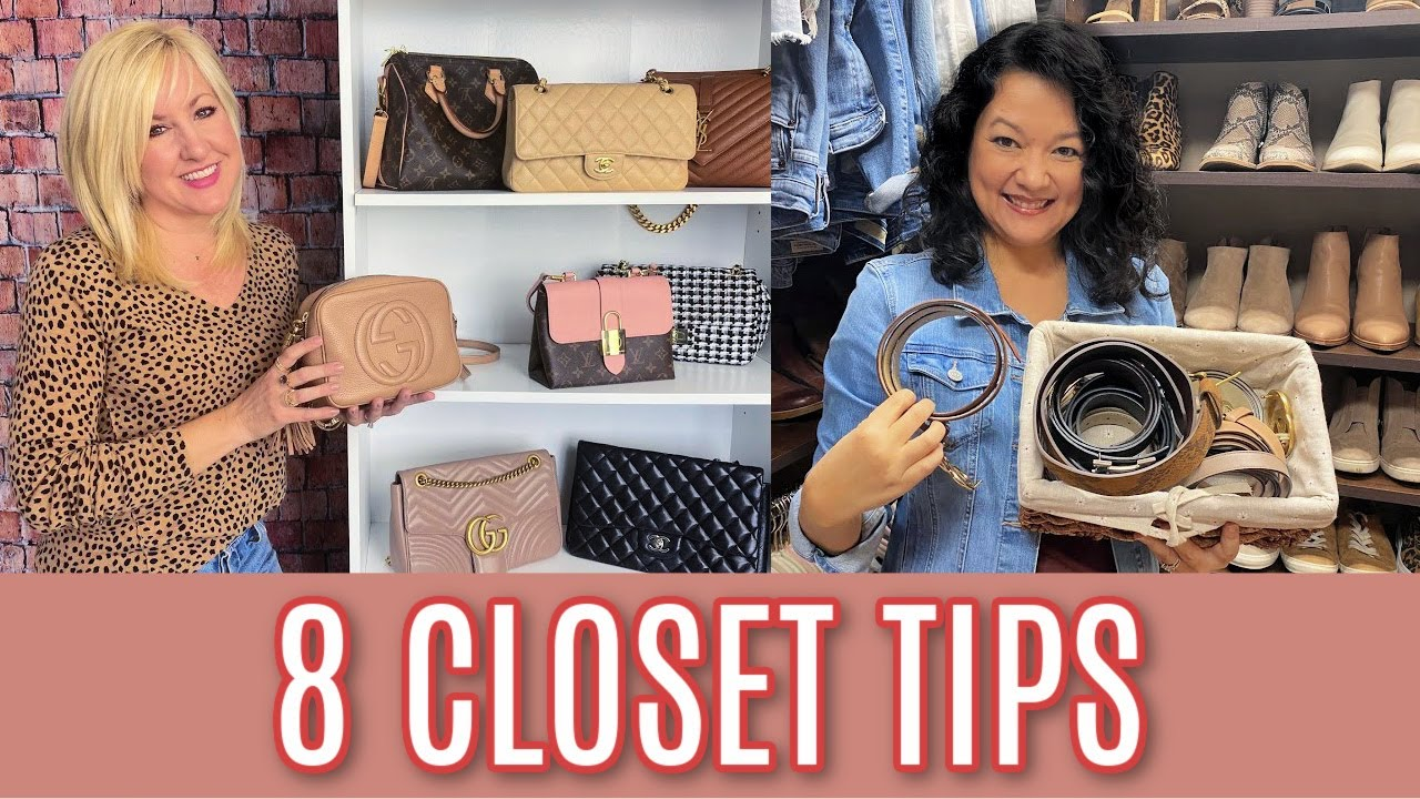 Download 8 *CLEVER* Closet Organization Tips That Every Woman Needs
