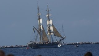 The Tall Ships Races 2013 Exit in the sea Riga