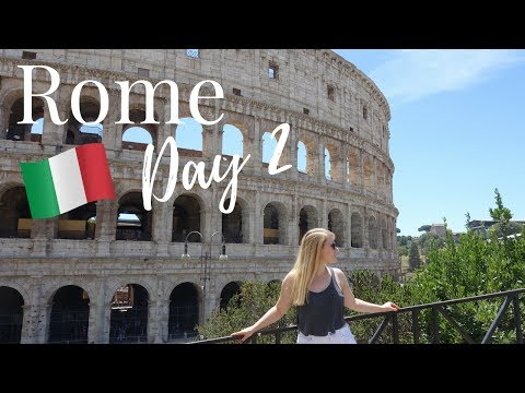 ROME, ITALY VLOG #2: The Colosseum, Roman Forum, The Best Pizza