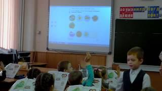 Фрагмент урока литературного чтения в 1 классе с использованием электронной формы учебника