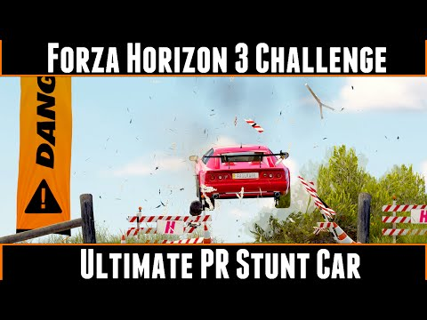 Forza Horizon 3 Challenge Ultimate PR Stunt Car