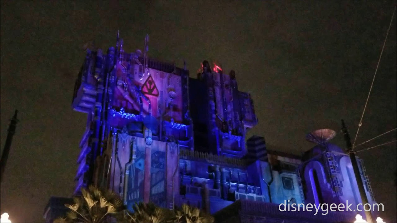 Dca Guardians Of The Galaxy Monsters After Dark Lighting Effects