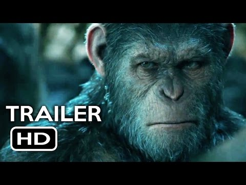 War for the Planet of the Apes Official Trailer #1 (2017) Action Movie HD