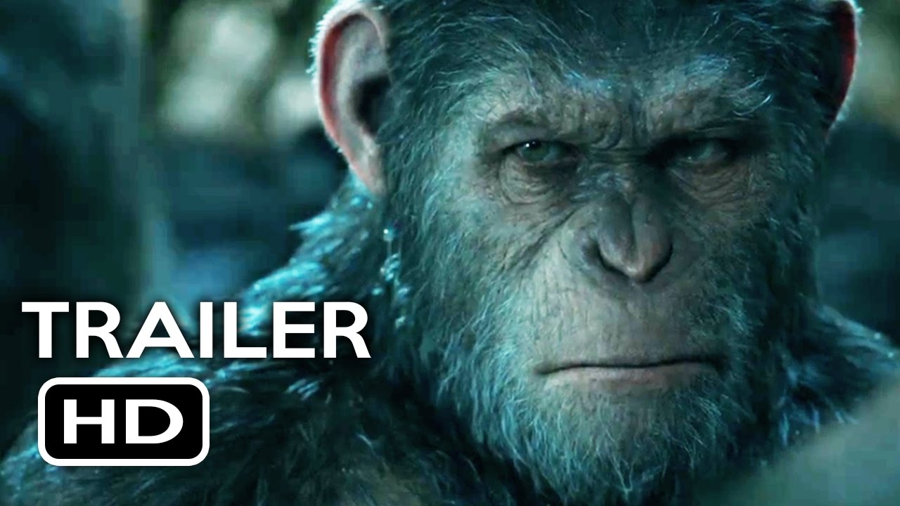 War For The Planet Of The Apes Official Trailer 1 2017 Action Movie Hd Youtube