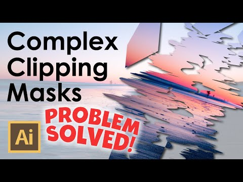 Complex Clipping Mask Error Message - HOW TO FIX CLIPPING MASK ISSUE - Adobe Illustrator Tutorial