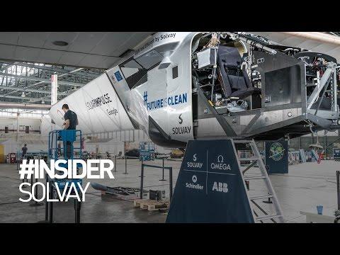 Solar Impulse - Solvay - #INSIDER