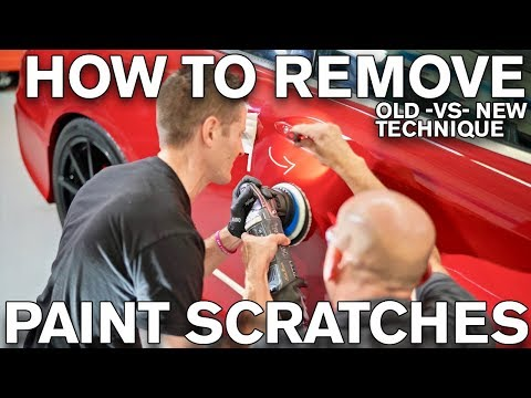 How to Remove Paint Scratches: Old vs New Method of Polishing ATA 206
