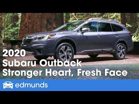 2020 Subaru Outback First Look Debut